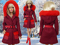 Одежда для кукол Барби - пальто