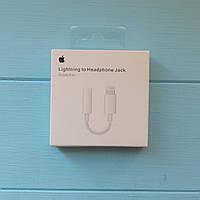 Адаптер (переходник) Apple Lightning to 3.5 mm ORIGINAL