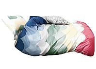 Комплект постельного белья Хлопковый Сатин NR C1348 Oulaiya 2607 Разноцветный