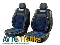 """Авточехлы """"майки"""" универсальные PILOT  на передние сиденья с поролоном и подголовниками, фото 1"""