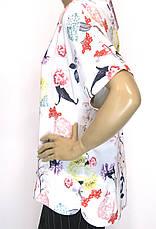 Нарядна шифонова блуза 50-54р  Microfone, фото 2