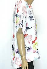 Нарядна шифонова блуза 50-54р  Microfone, фото 3