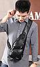 ОРИГИНАЛЬНАЯ МУЖСКАЯ СУМКА PRIMEONE + USB на павербанк, фото 4