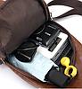 ОРИГИНАЛЬНАЯ МУЖСКАЯ СУМКА PRIMEONE + USB на павербанк, фото 5
