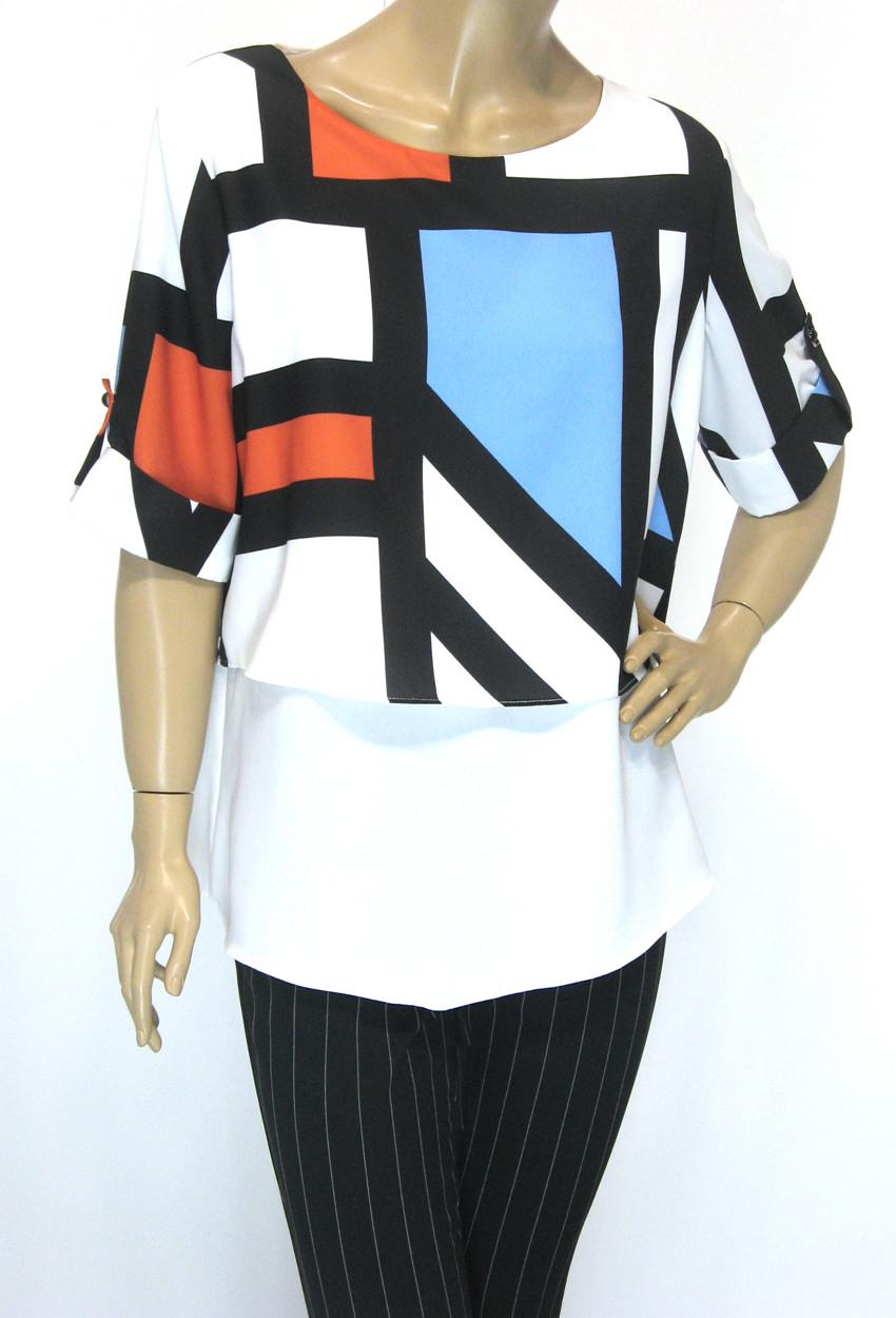 блуза з коротким рукавом Lavizzion