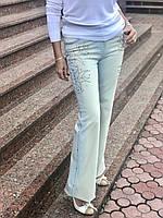 Джинсы Balizza голубые клеш женские оригинал, фото 1