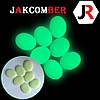 Светящиеся камни КАПЛЯ для ландшафтного дизайна освещение в темноте, JAKCOMBER Зелёный от 100 грамм, фото 2