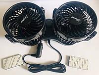 """Вентилятор 12V На Подставке Скотч """"4x2 -Дюймов"""" """"Elegant"""" 101 545"""