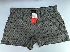Мужские шорты (семейные трусы батал 5,6,7) Марка «CASTOM» арт.58008, фото 2