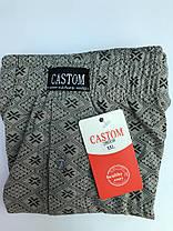 Мужские шорты (семейные трусы батал 5,6,7) Марка «CASTOM» арт.58008, фото 3