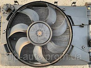 Вентилятор основного радиатора комплект (диффузор) Chevrolet Cruze 1.6/1.8