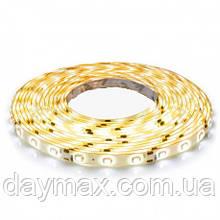 LED Стрічка світлодіодна IP65 (А-клас) 3528 60 діод./м 4.8 вт/м теплий білий (2700k-3500k) MOTOKO
