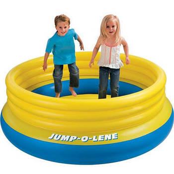 АКЦИЯ. Батут детский надувной, а также сухой бассейн Intex