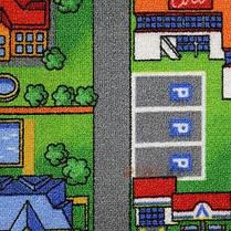 Детский ковер городок с дорогами Плейсити, фото 2