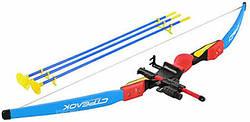 Лук дитячий зі стрілами Limo Toy M 0006 Лазер