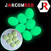 Светящиеся камни КАПЛЯ для ландшафтного дизайна освещение в темноте, JAKCOMBER Бирюзовый от 100 грамм, фото 3