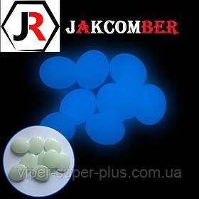 Светящиеся камни КАПЛЯ для ландшафтного дизайна освещение в темноте, JAKCOMBER Голубой от 100 грамм