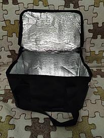 Термосумка (сумка-холодильник, термобокс) для еды и бутылочек с ручками