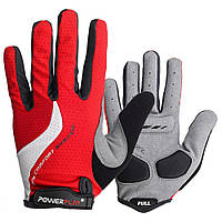 Велоперчатки PowerPlay 6554 Red M