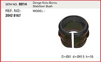 Втулка стабилизатора резиновая D61x41.5x55 SEM8814 Volvo 20428167