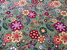 Коврик детский цветной Цветы 40, фото 3