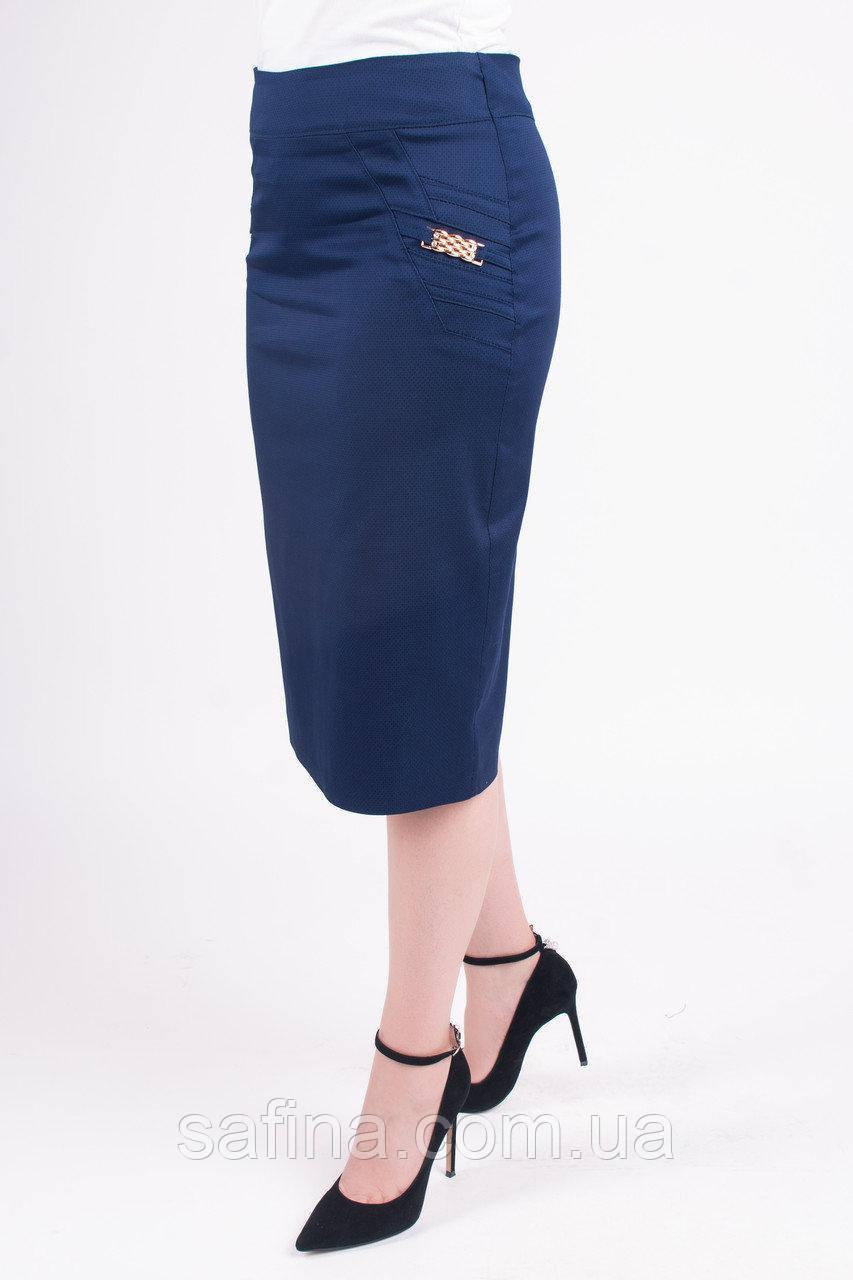 Летняя юбка стрейч 54