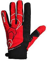 Велоперчатки PowerPlay 6556C Red-black M