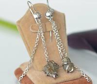 Авторські сережки із срібла 925, фото 1