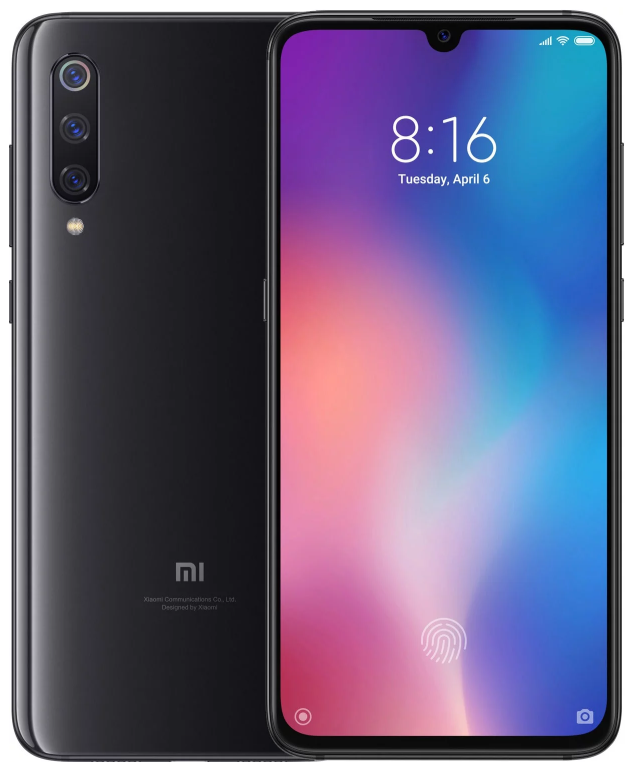 "Xiaomi Mi 9 Piano Black 6/64 Gb, 6.39"", Snapdragon 855, 3G, 4G (Global)"