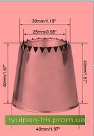 Кондитерская насадка султан раб часть 3 см