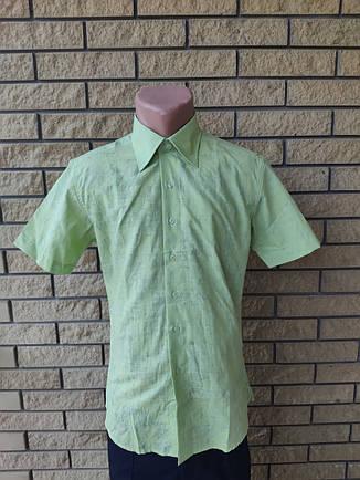 Рубашка мужская летняя коттоновая высокого качества ZORO, фото 2