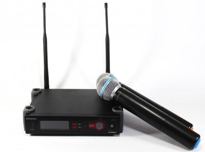 Система радиомикрофонов Shure SLX/X4