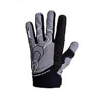 Велоперчатки PowerPlay 6556 Grey-black S