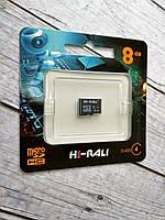 Карта памяти Micro SD 8Gb Hi-Rali Class 4 без ад.