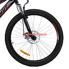 Горный велосипед Azimut Hiland 26 GD черно-красный, фото 4