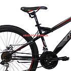 Горный велосипед Azimut Hiland 26 GD черно-красный, фото 5