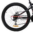 Горный велосипед Azimut Hiland 26 GD черно-красный, фото 6