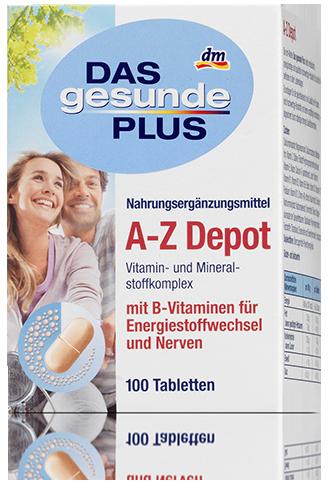 DGP комплекс витаминов и минералов A-Z Depot 100шт