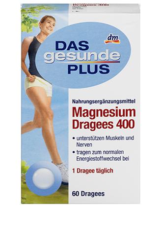 DGP Magnesium Dragees магний 400 60шт