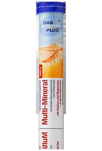 DGP Das gesunde Plus Multi-Mineral Brausetabletten мультиминералы шипучие 20шт