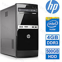 HP 500B - 4 ЯДРА / 4GB DDR3 / 500GB HDD Системный блок, Компьютер, ПК