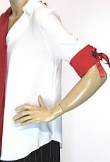 Нарядна блуза короткий рукав Sassina, фото 2