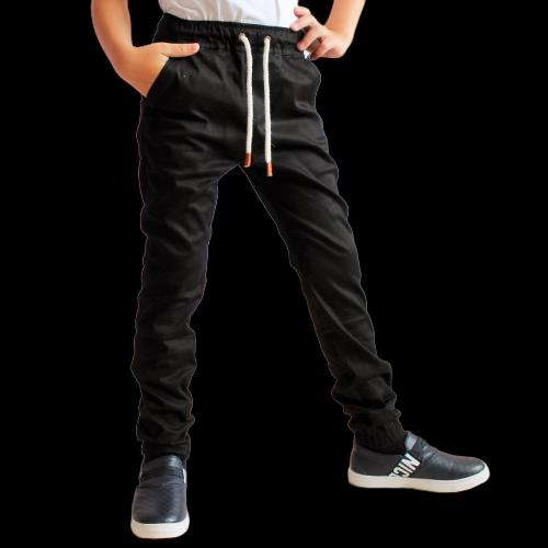 Школьная форма черная брюки джогеры