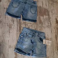Шорты для девочек джинсовые. размер 5.6.7.8лет