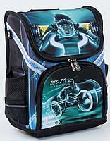 Ранец школьный каркасный Трон 1, 2, 3 класс. Для мальчиков. Рюкзак ортопедический, портфель школа