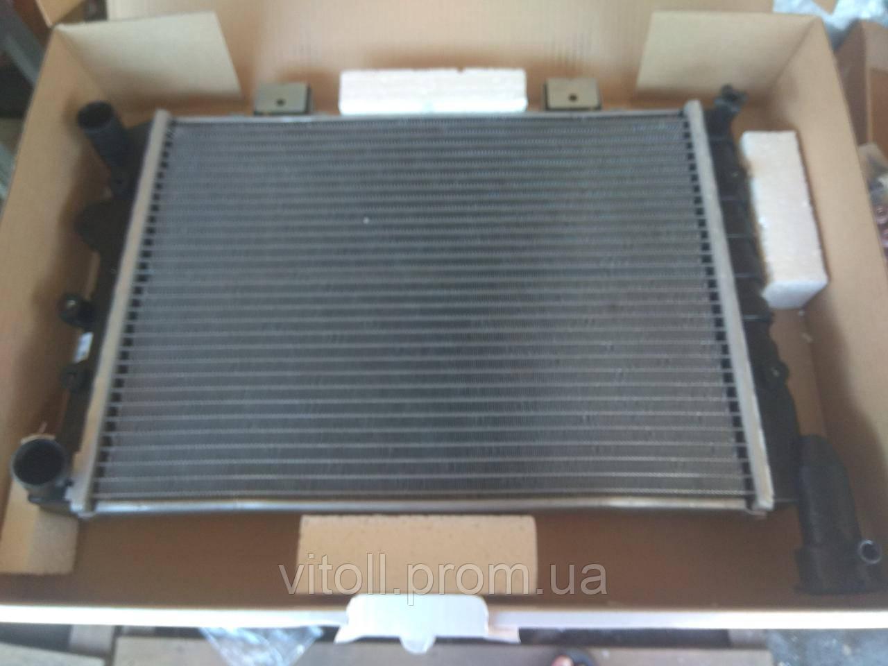 Радиатор охлаждения Ваз 21073 инжектор Лузар Sport (алюминиево-паяный)