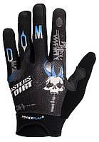 Велоперчатки PowerPlay 6598 Black L