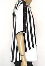 Шифонова нарядна блуза в полоску Lavizzion, фото 3