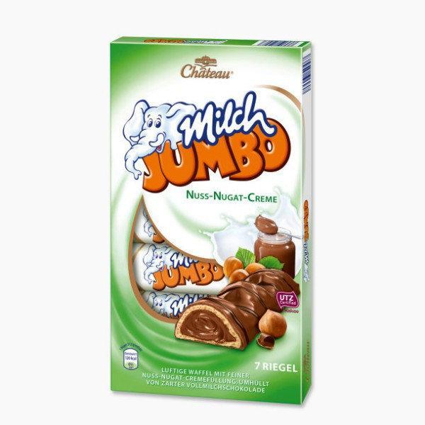 Батончики Milch Jumbo Ореховые Упаковка