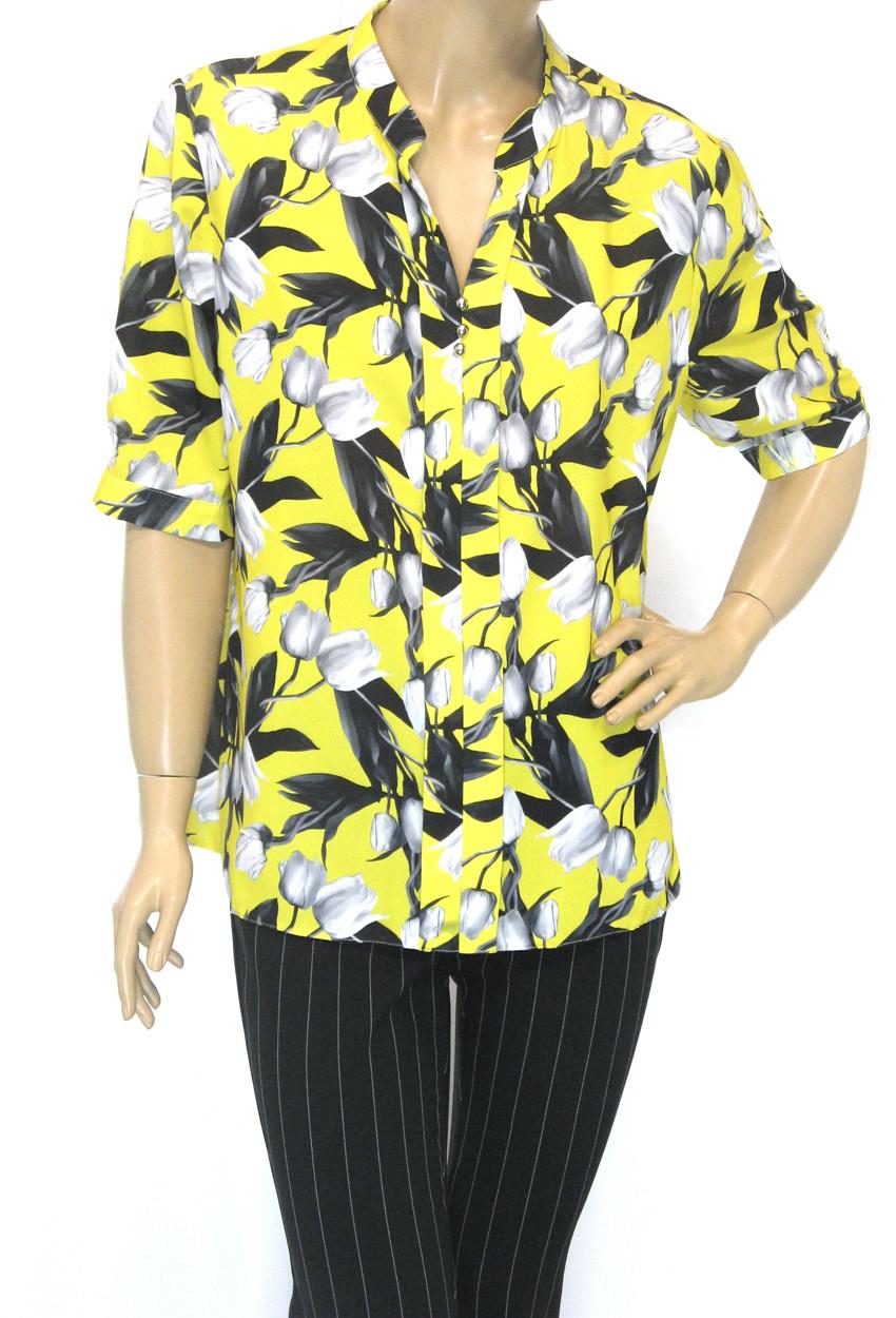 Шифонова нарядна блуза Lavizzion